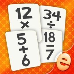 Math Flash Card Matching Games For Kids Math Tutor
