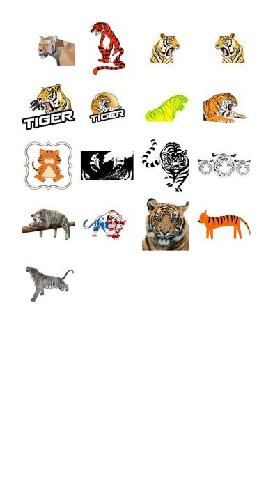 Tiger Zwei Sticker PackScreenshot von 1