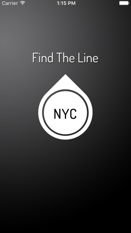 Find The Line NYC