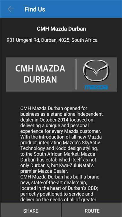 CMH Mazda Durban screenshot-3