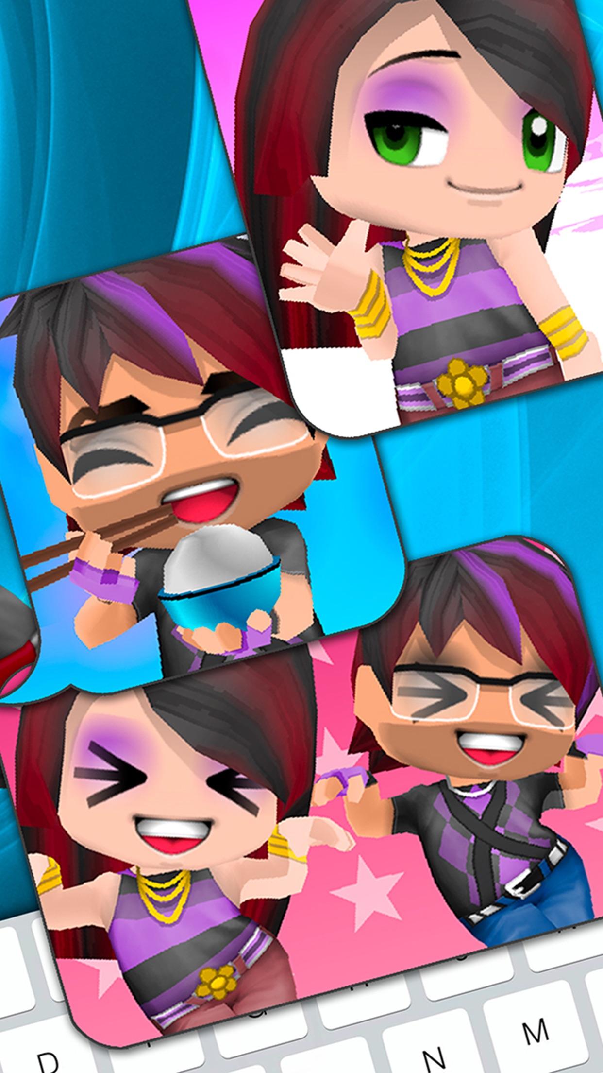 3D Avatar Creator - BuddyPoke Emoji and Pictures Screenshot