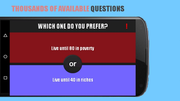 the best would you rather questions