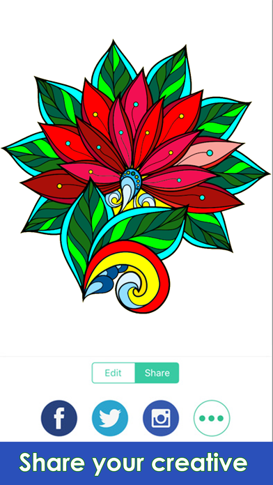 Coloring Me : Coloring Book for Adults screenshot three