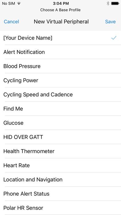 bt notice smartwatch - ble scanner utility app image