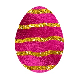Easter Eggs - Foil and Glitter