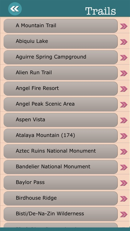 New Mexico State Campgrounds & Hiking Trails screenshot-3