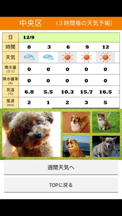 みんなのわんこ天気〜天気予報+犬写真で毎日に少しほっこり〜のおすすめ画像5