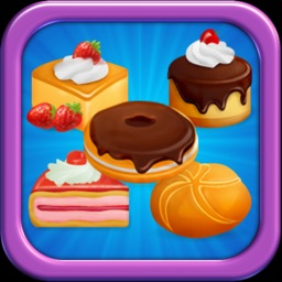 Cake Match Charm - Sweet puzzle candy jam game