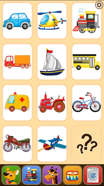 Toddler Flashcards HD: Baby Learning Games & Apps screenshot-4
