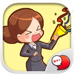 Richgirl Stickers & Emoji Keyboard By ChatStick