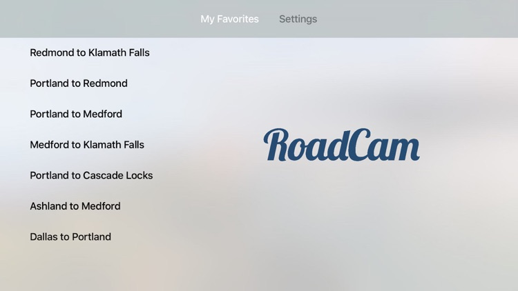 RoadCam - Traffic Cameras