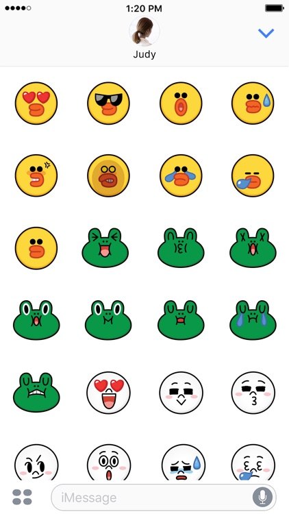 SALLY & FRIENDS Emoji Stickers - LINE FRIENDS screenshot-3
