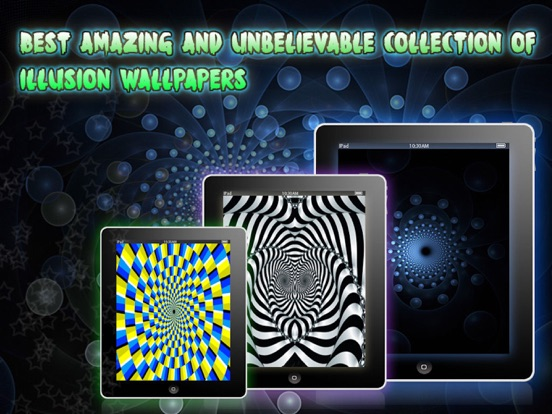 Screenshot #6 pour Illusion Wallpapers √ Pro