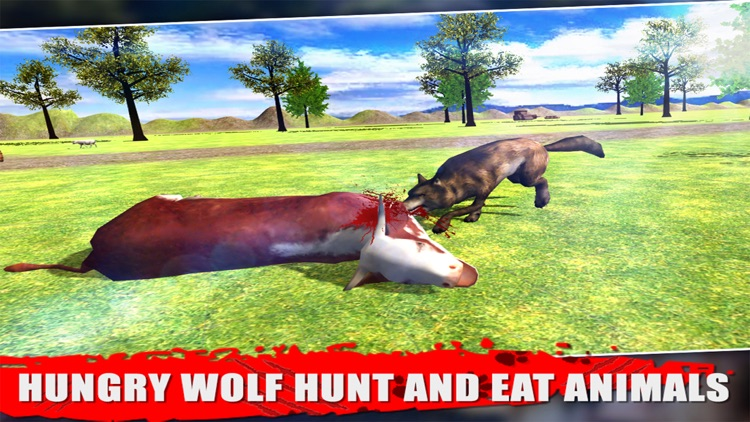 Wild Wolf - Simulator 3D screenshot-2