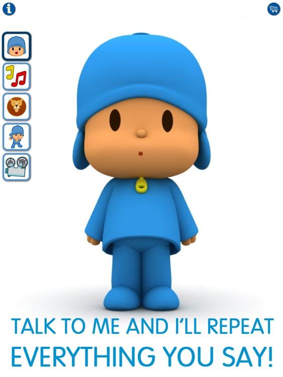 Talking Pocoyo HD Premium screenshot-0