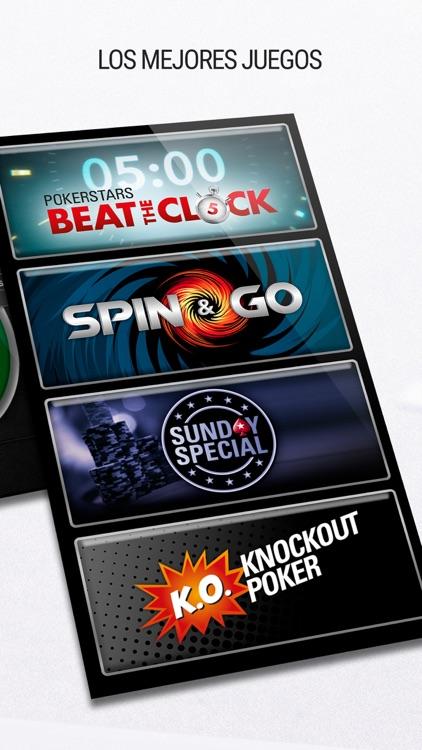 PokerStars: Juego de Poker Gratis y Texas Holdem screenshot-4