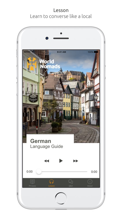 German Language Guide & Audio - World Nomads