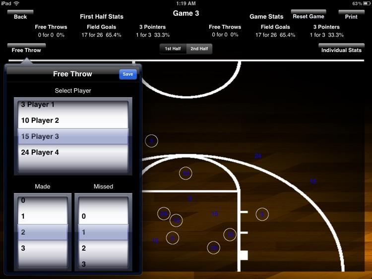 Shot Chart screenshot-4