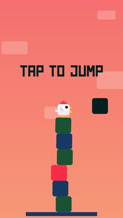 Chicken Scream Jump - Endless Arcade Game