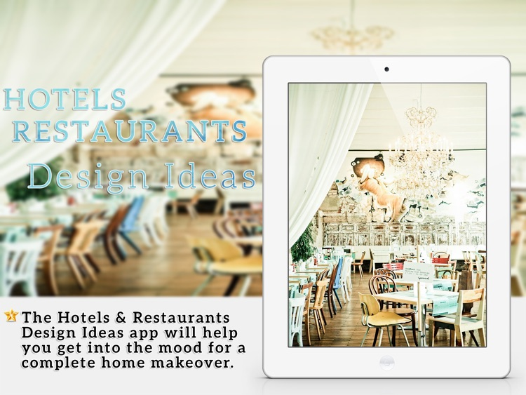 Modern Hotel & Restaurant Design Ideas for iPad screenshot-0