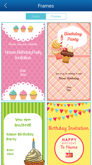 Birthday invitation card maker hd on the app store stopboris Image collections