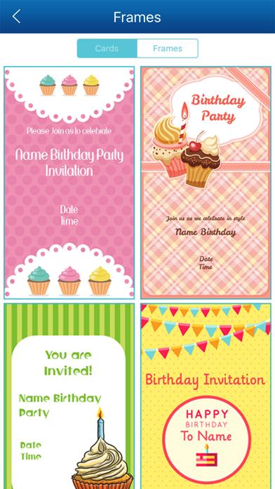 Birthday Invitation Card Maker Hd Apps 148apps