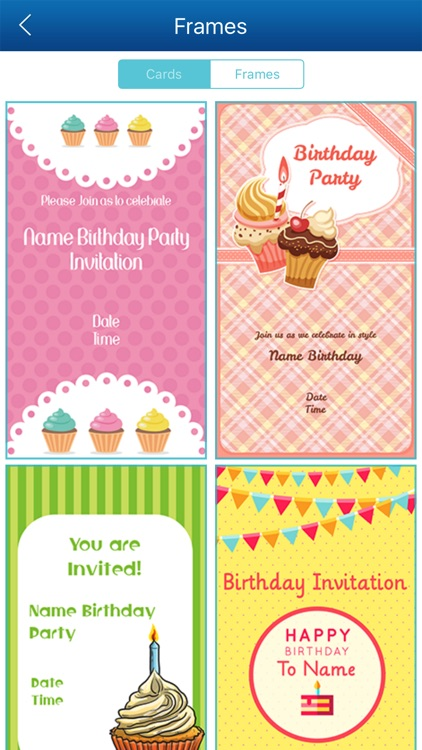 Birthday Invitation Card Maker HD Screenshot 3