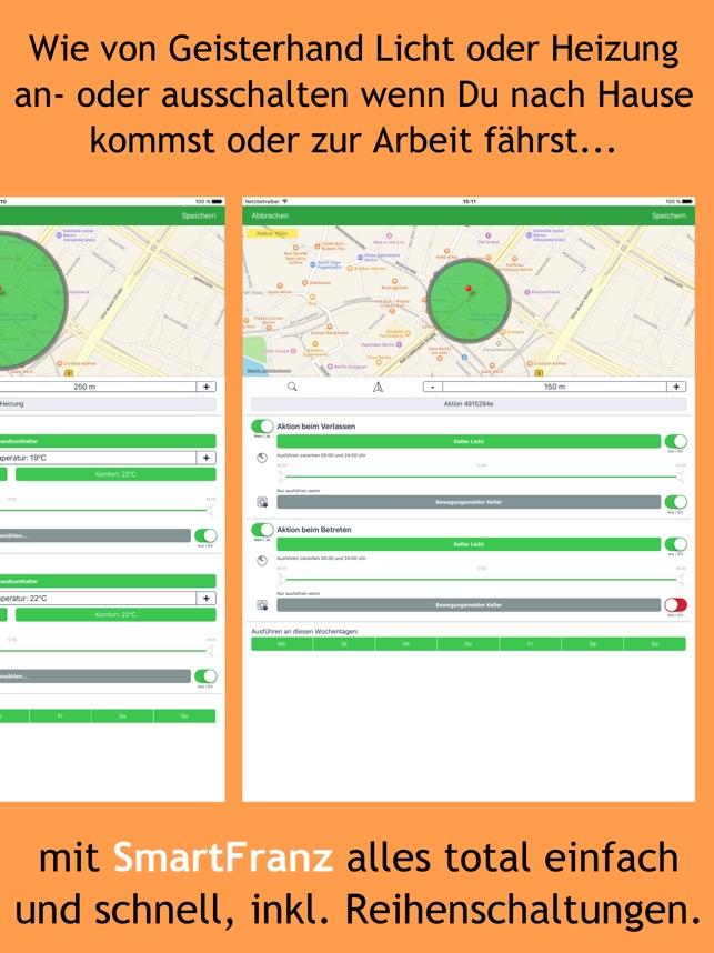 SmartFranz für FRITZ!Smarthome im App Store