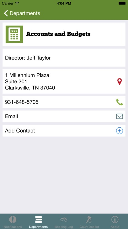 MCGTNotify by Montgomery County Government