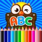 Alfabeto letras livro de colorir para crianças icon