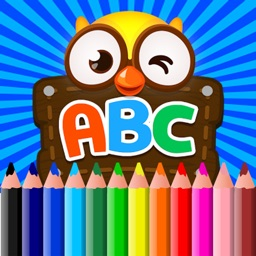 Alphabet Letters Coloring Book For Kids Tolders