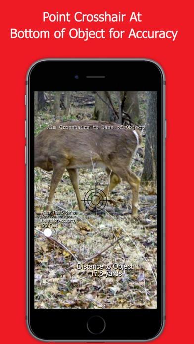 Range Finder for Hunting Deer & Bow Hunting Deer Screenshot
