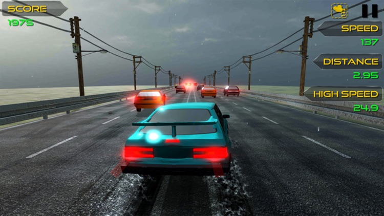 Highway Car Racer 3D screenshot-3