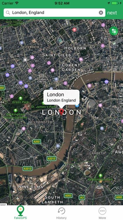 Fake Location - Change GPS Location Spoofer app image
