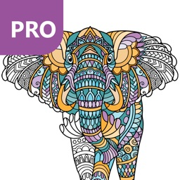 Animal Coloring Pages for Adults PRO