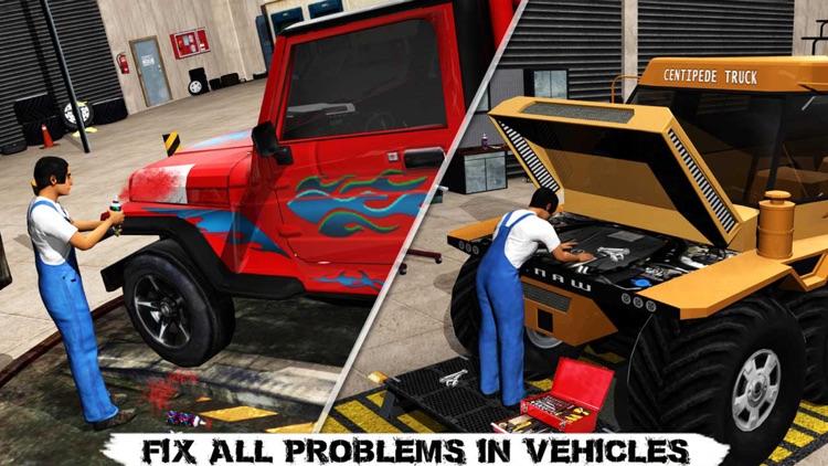 Monster Truck Mechanic Simulator: Repair Shop PRO screenshot-3