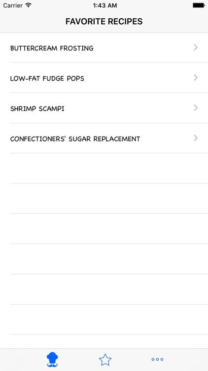 Easy Diabetic Recipes screenshot-3