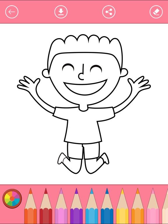 男の子のためのぬりえ 塗り絵アプリ 無料 Ipadアプリ Applion