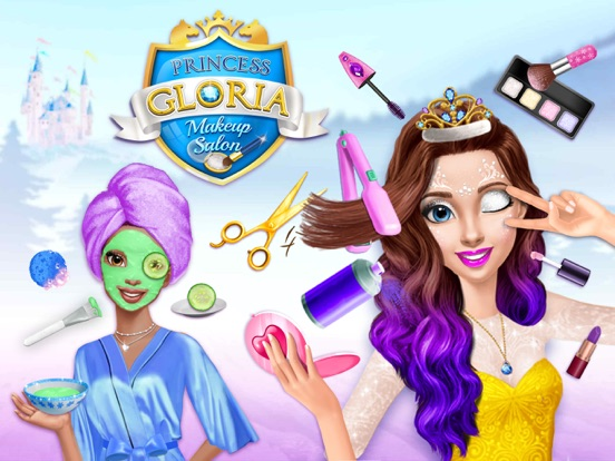 Princess Gloria Makeup Salon - No Ads screenshot 6