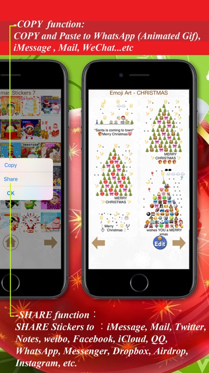 Christmas Day - Stickers, Emoji Art, Wallpaper by AppsNice