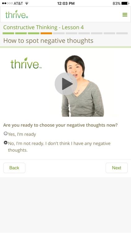 Thrive - Feel better, sooner