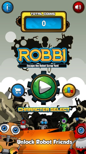 ‎Robbi - Escape The Robot Scrap Yard Free Screenshot