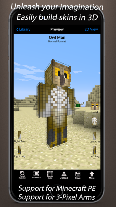download skin minecraft pe 4 brother