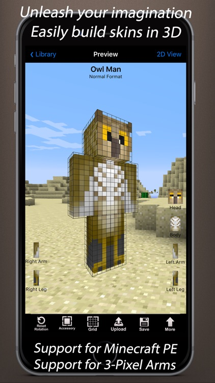 Skin Creator 3D for Minecraft