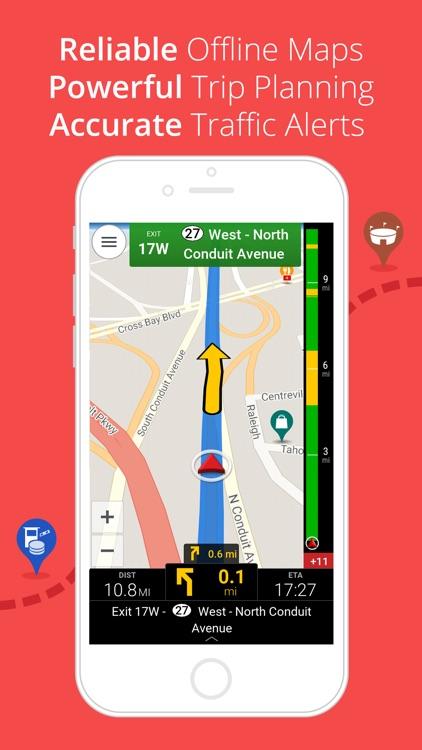 CoPilot USA & Canada - Offline GPS Navigation screenshot-0