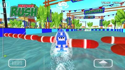 警察ボートラッシュ:3D警察ボートレースのおすすめ画像1