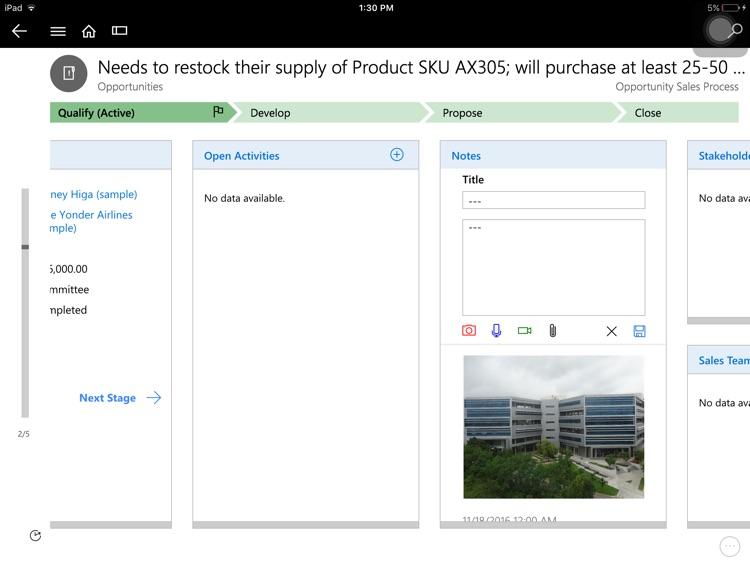 Microsoft Dynamics 365 screenshot-4