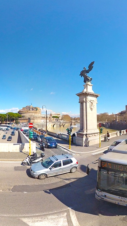 VR ROME Bus Trip 2 Virtual Reality 360 screenshot-4