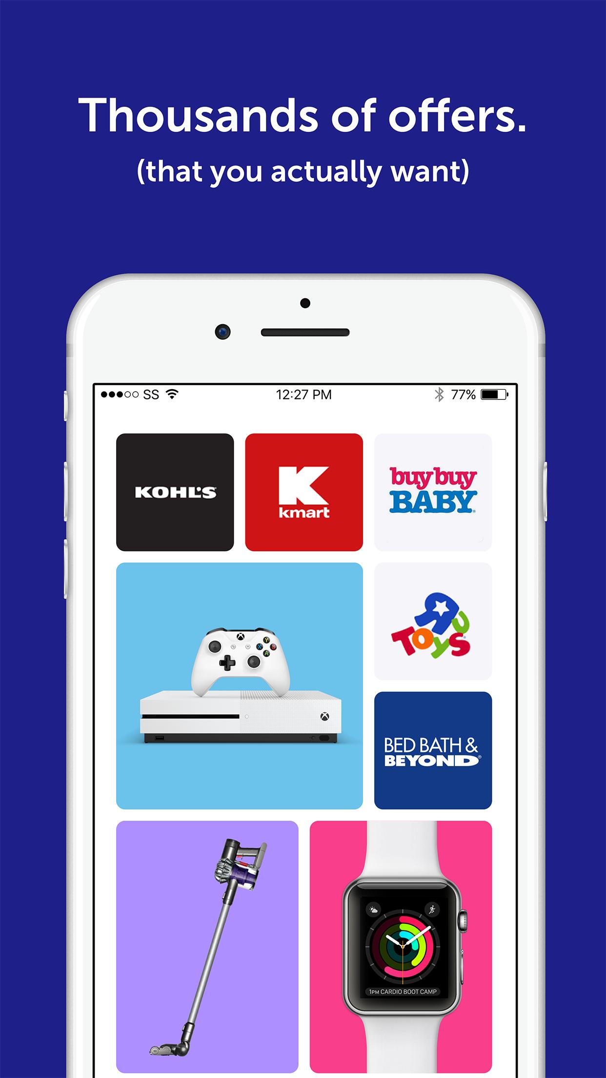 SnipSnap Coupon App Screenshot