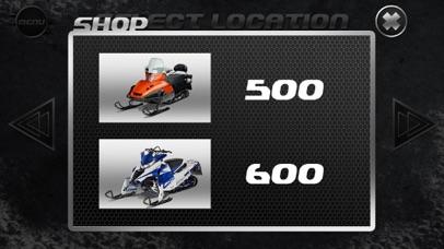 Drive Snowmobile 3D Simulator screenshot two